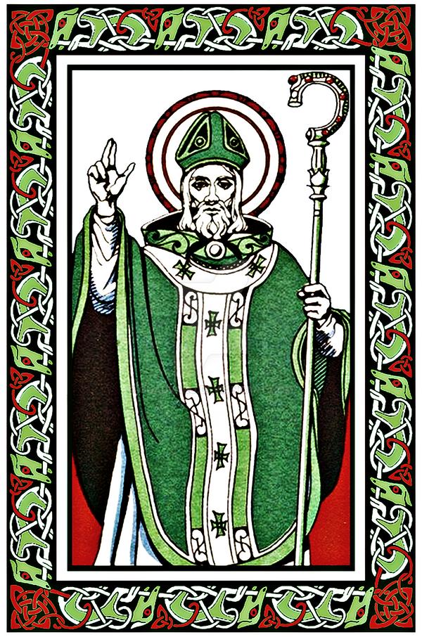 Saint Patrick - Naomh Padraig by Quadraro