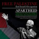 Mandela - Palestine Poster by Quadraro