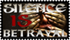 Silence is Betrayal - Stamp by Quadraro