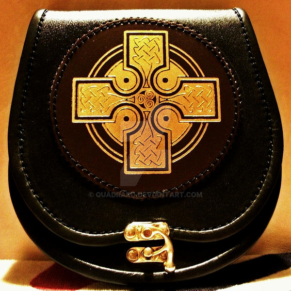 Object Stock - Celtic Sporran by Quadraro