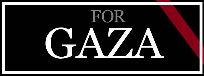 For Gaza - Facebook Cover