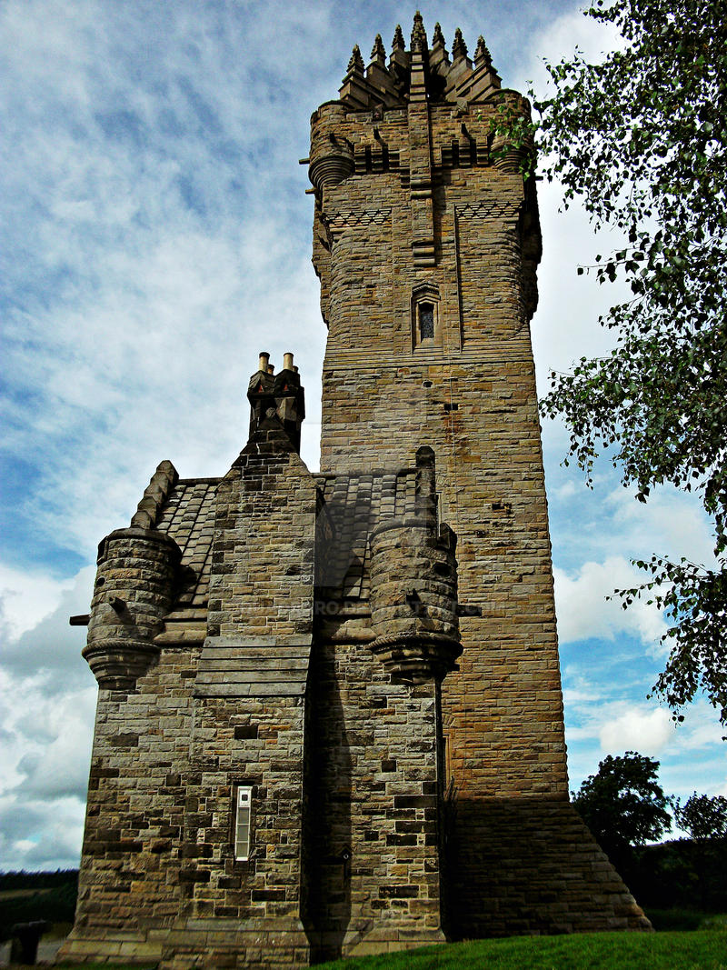 Statues and Monuments Stock - Wallace Monument by Quadraro