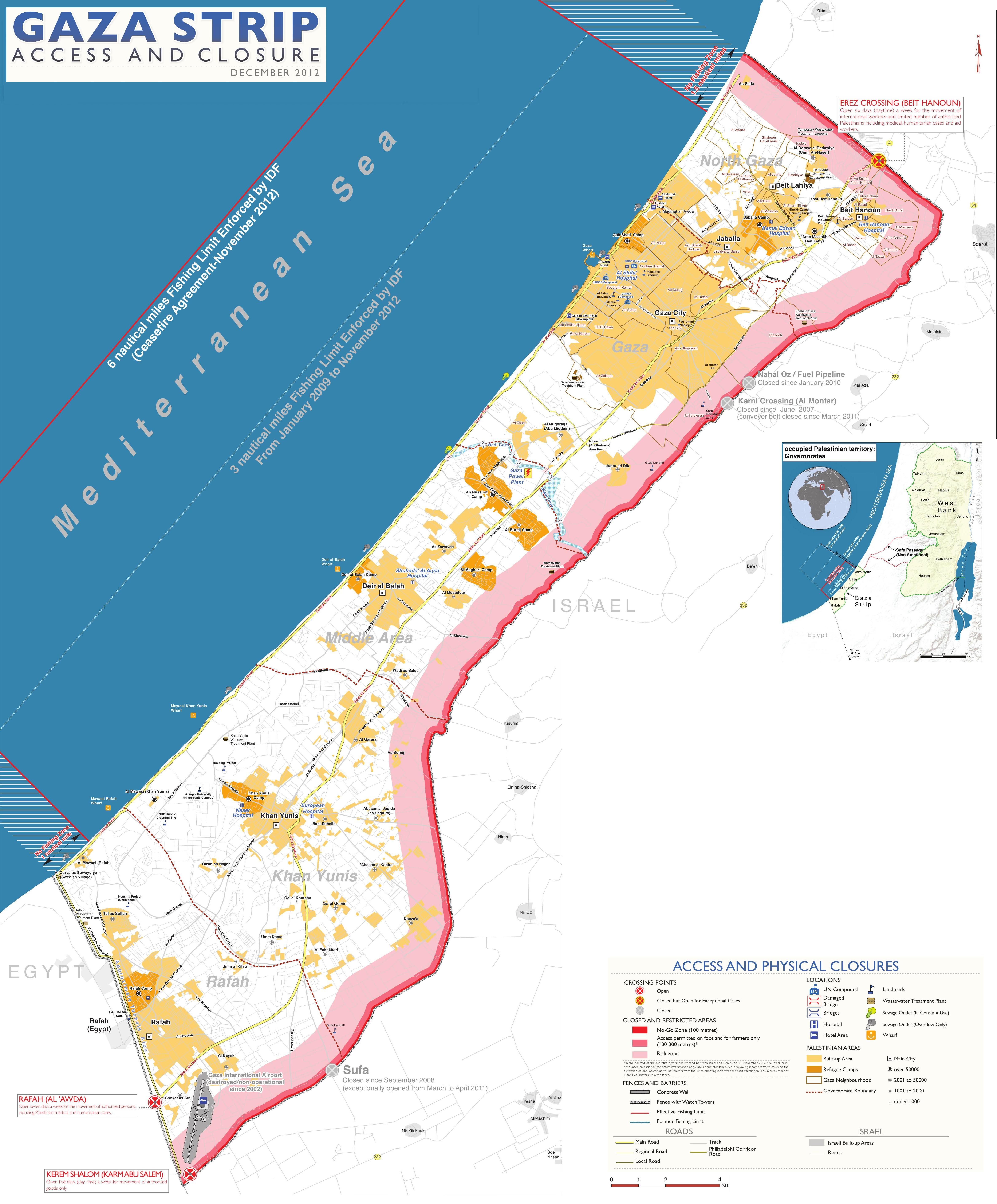 Gaza Facts by Quadraro