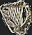 Celtic Harp Avatar by Quadraro