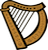 Celtic Harp Avatar by Quadraro