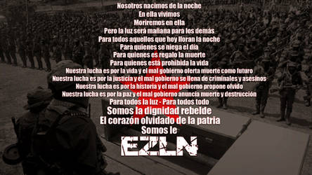 Somos le EZLN by Quadraro