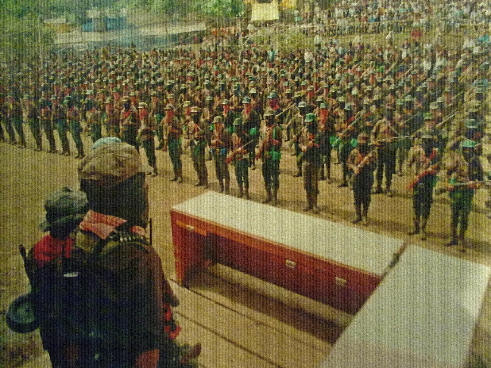 the ezln The ezln then withdrew to the jungle, and a tense ceasefire began on january 12th since then the mexican army has been using a tactic of low intensity warfare (killing and displacing civilians), which continues to this day.