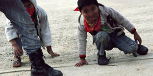 Children for Ayotzinapa by Quadraro