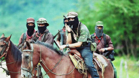 Subcomandante Marcos and EZLN by Quadraro