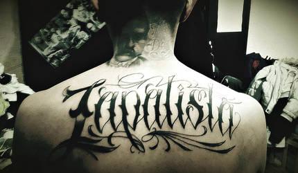 Zapatista tattoo by Quadraro