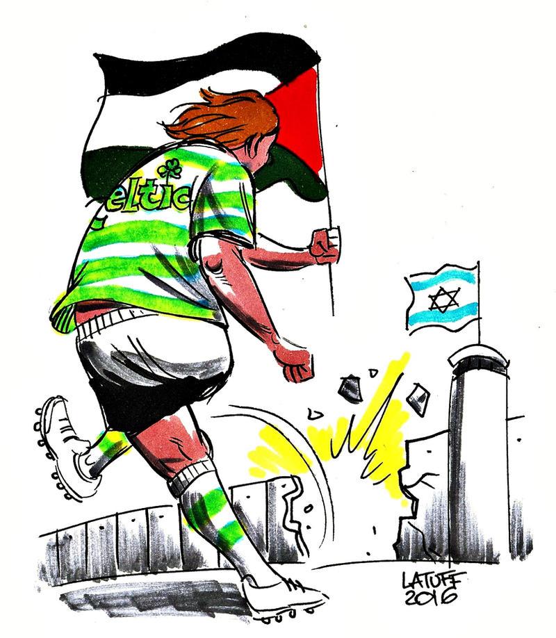 Celtic F.C. with Palestine