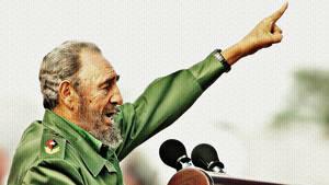 Fidel Castro by Quadraro
