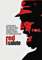 Red salute' by Quadraro