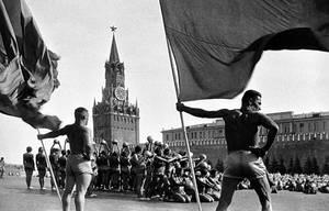 Russian communist athletes by Quadraro