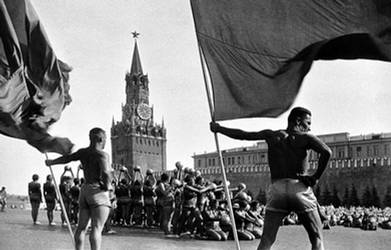 Russian communist athletes by Quadraro