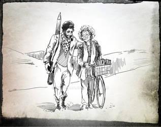 Il Partigiano e la sua Staffetta by Quadraro