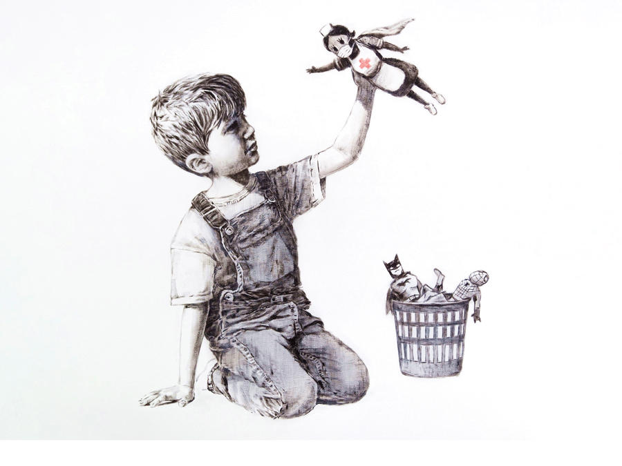 Game Changer by Bansky