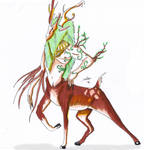Forest Spirit by Yomandas