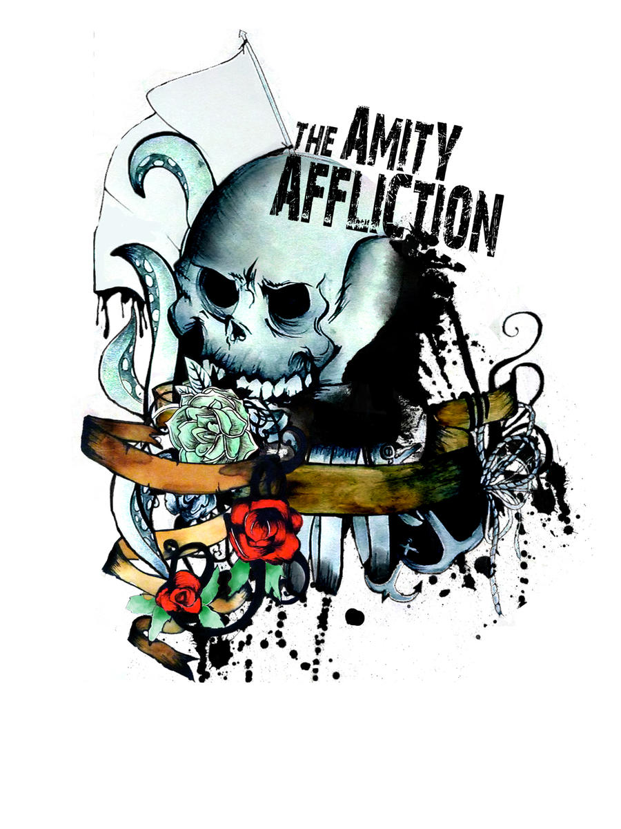 Amity Affliction Design By RubyMayLoots