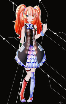 The Large Hadron Collider-chan