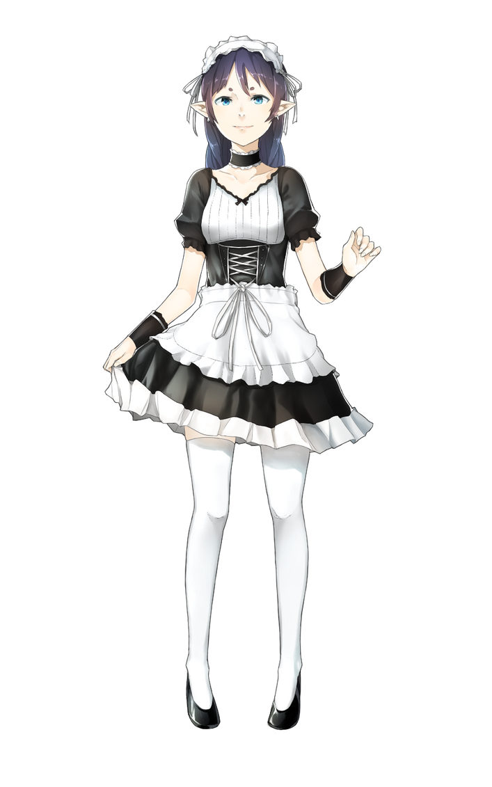Lucia Royal (maid) Drawn By Drawrepulser by UncolaMan