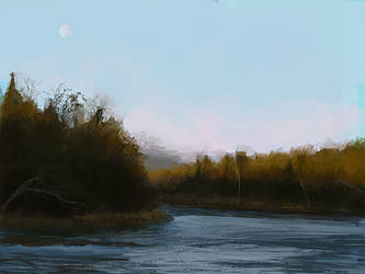 Photostudy - River