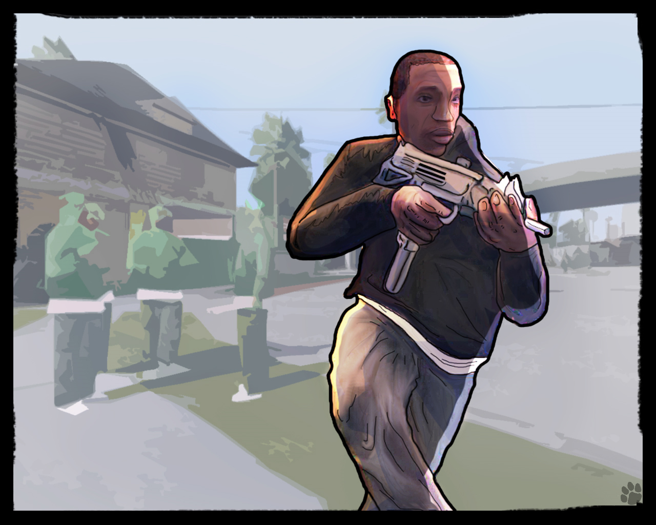 GTA San Andreas Art-Work by Ezekiel-RN on DeviantArt