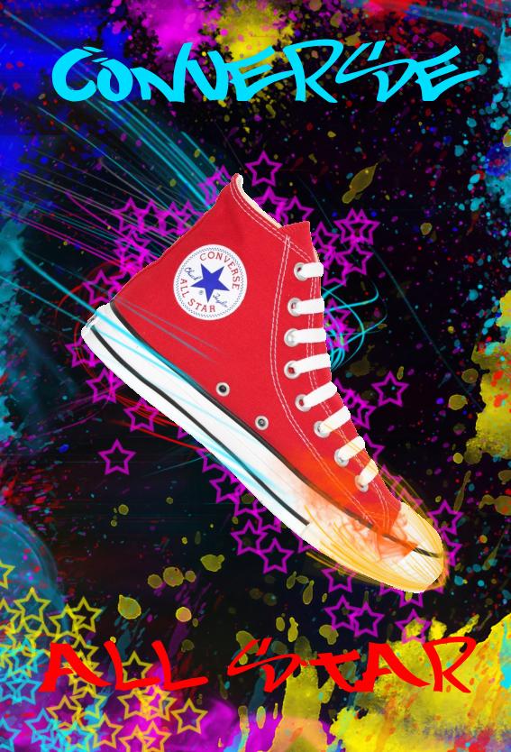 converse all star advertisement