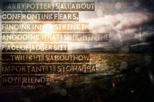 Harry Potter Wallpaper by HzrdXero