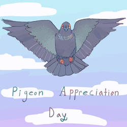 pigeon day by TytoTheGreat