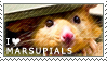 Marsupial Stamp by DeadStag