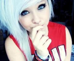 Фотки блонд эмо