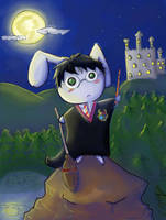 Bunny Potter by Alleby