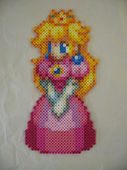 Perler Beads Peach CSW by kiskekokanut