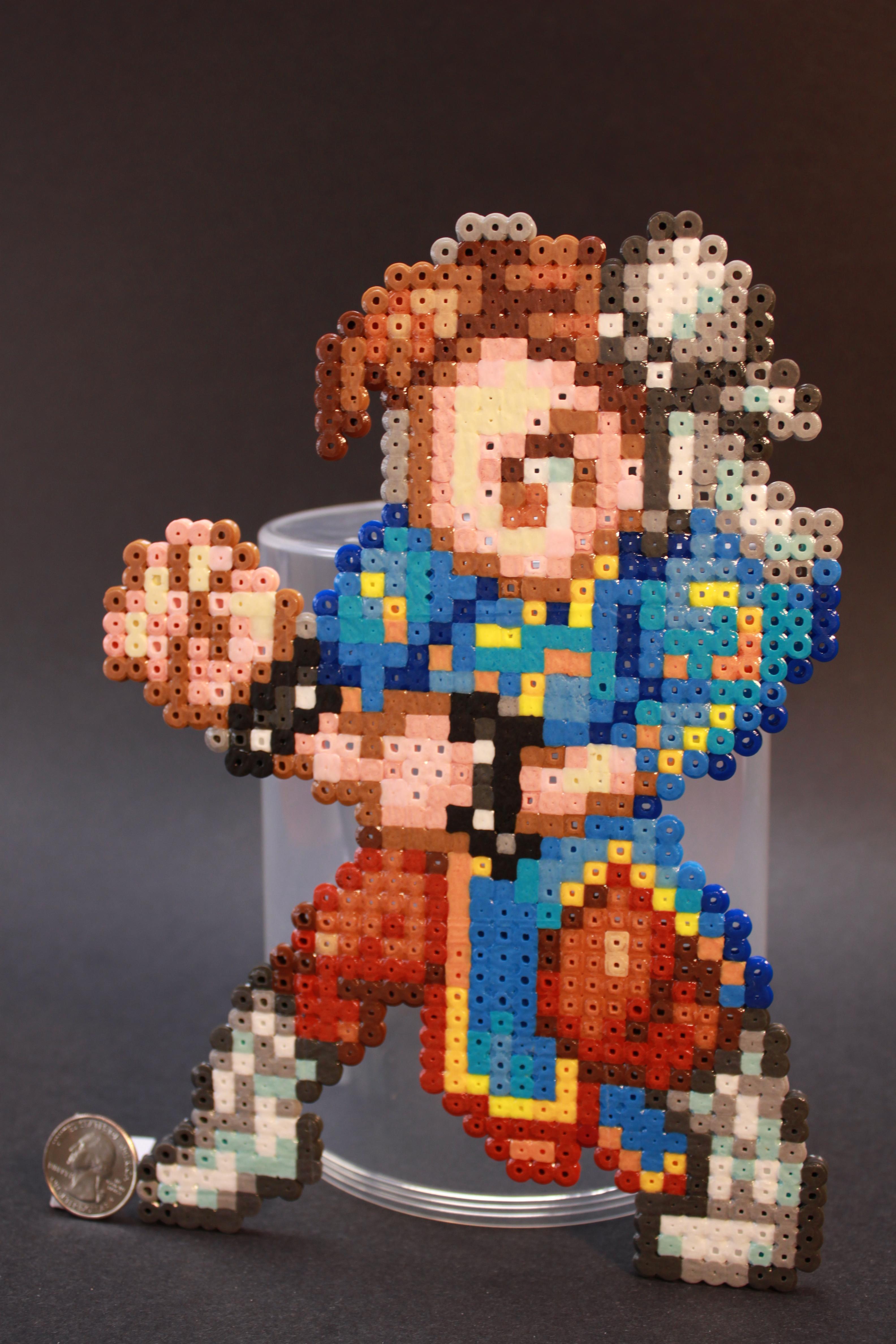 Perler Beads CSW Chun-Li by kiskekokanut