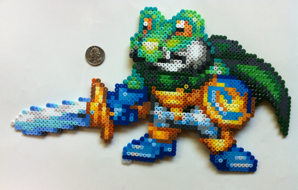 perler frog ideas images