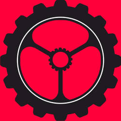 Nier Automata Gear Logo by Masgter