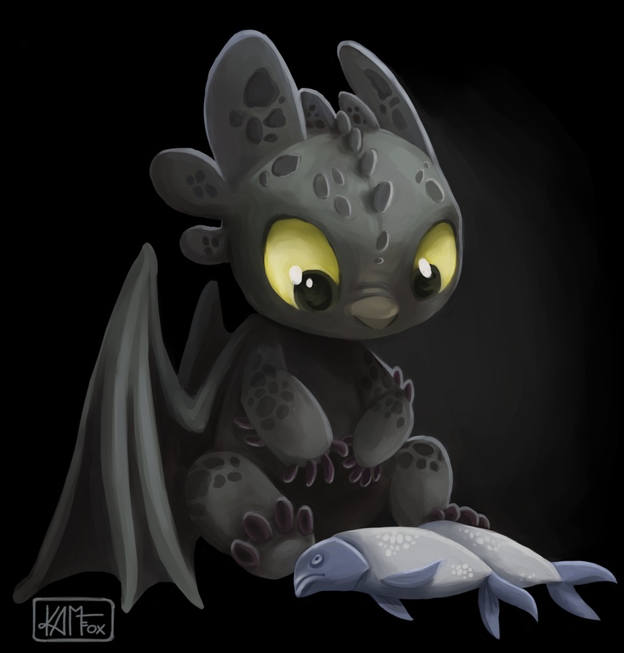 Another toothless by kam fox on deviantart - Toothless wallpaper ...