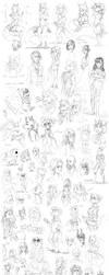 Sketch Dump 7 by Kam-Fox