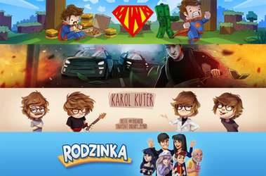 Youtube banners by Kam-Fox