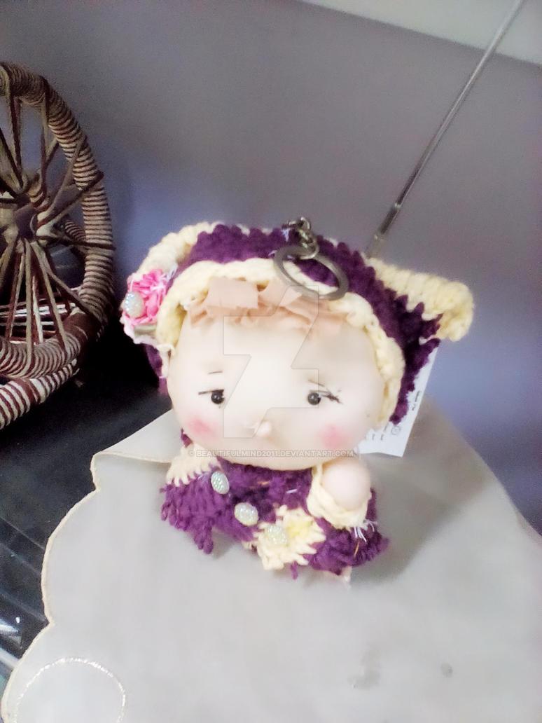 Handmade tiny doll by beautifulmind2011
