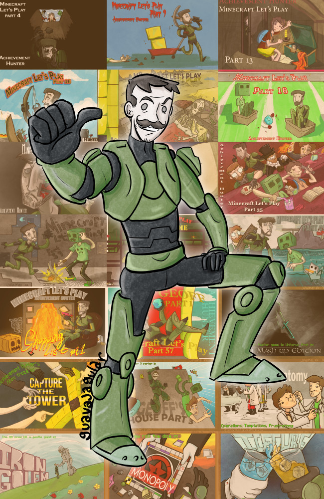 Geoff Ramsey 2014 by guavajagular