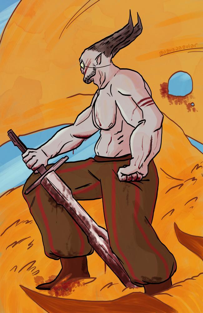 Iron Bull by guavajagular