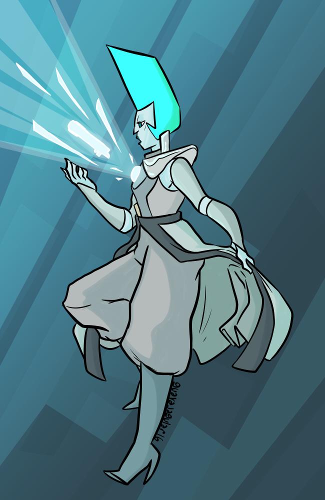 Kyber (Anakin's lightsaber) by guavajagular