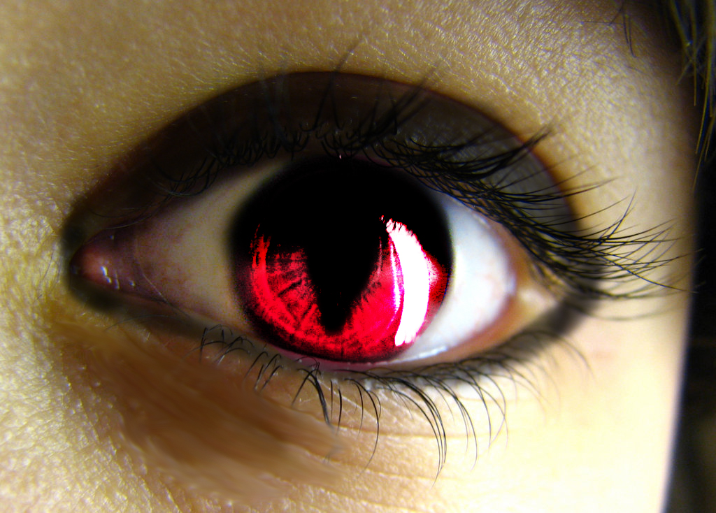 Vampire Anime Eyes vampire eye by Crazy-A...