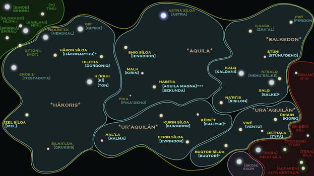 Aquilaan Empire Sector Map