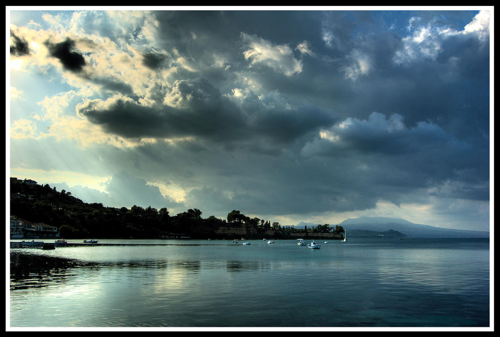 Cloudy afternoon by StamatisGR