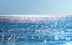 Sea of diamonds -Greece-