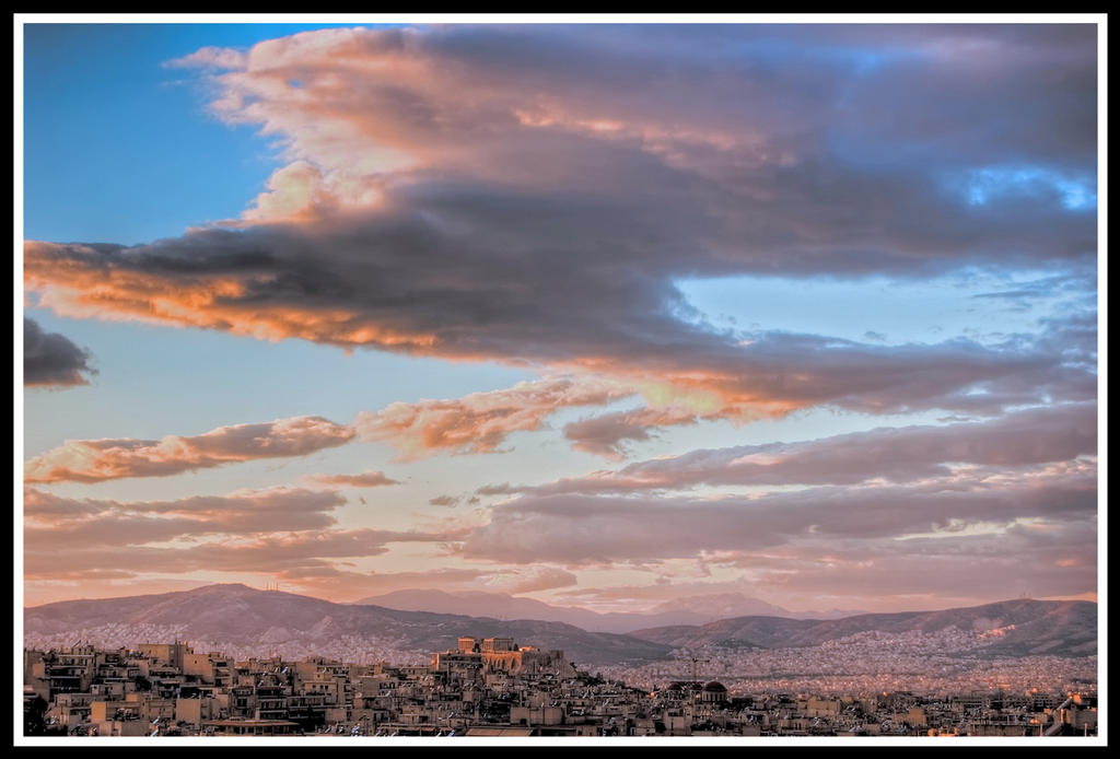 Christmas afternoon in Athens by StamatisGR