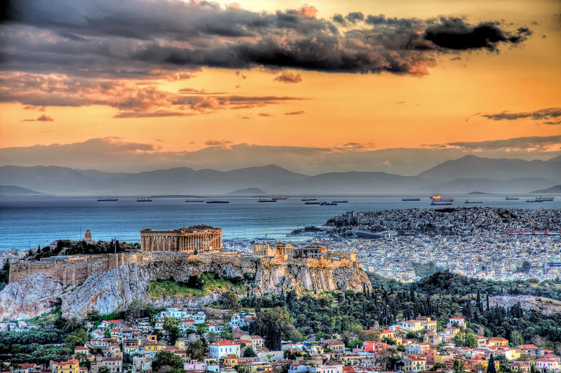 A warm afternoon in Athens